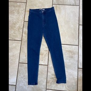 Levi's High Rise Run around Super skinny jean XS